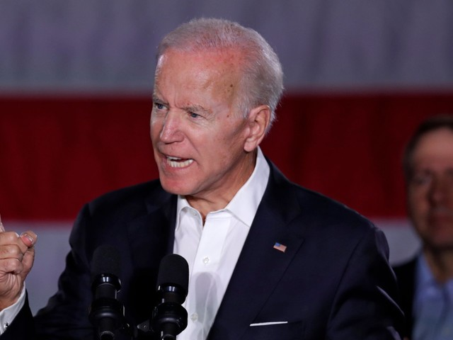 Joe Biden shuts down Breitbart News reporter who falsely claimed Trump never said there were 'very fine people' on both sides after the Charlottesville white supremacist rally
