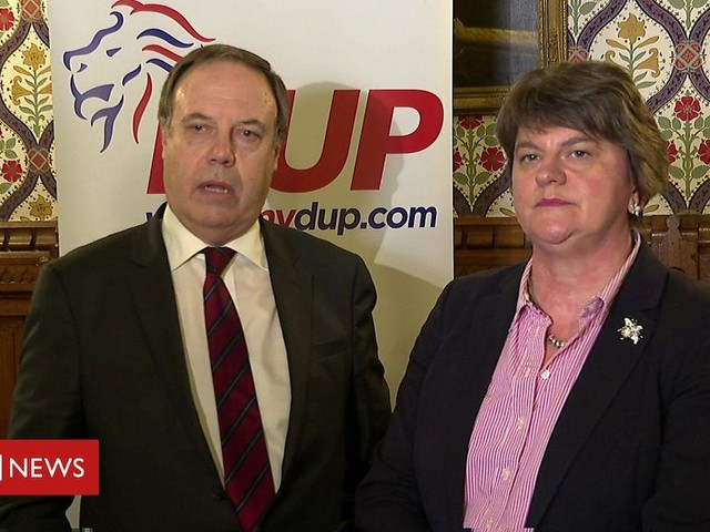 DUP: PM 'too eager for Brexit deal at any cost'