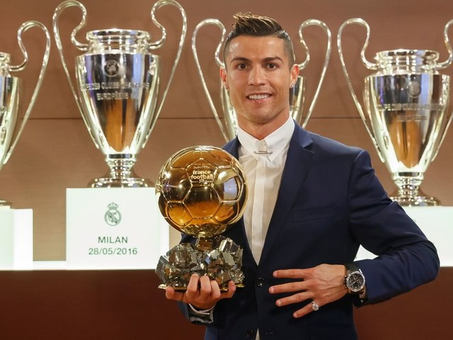 Real Madrid star Cristiano Ronaldo names his four rivals for the 2017 Ballon d'Or