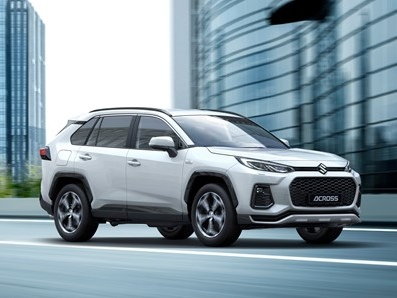 Suzuki and Toyota partnership results in ACROSS plug-in hybrid SUV