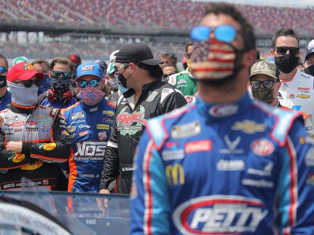 NASCAR drivers came together to support Bubba Wallace and denounce racism