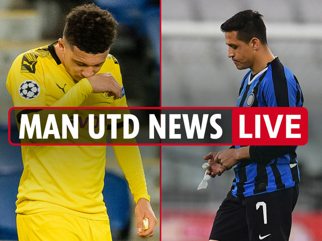 1.45pm Man Utd news LIVE: Sancho 'unofficially confirms United transfer', Sanchez to return, Saul could replace Pogba
