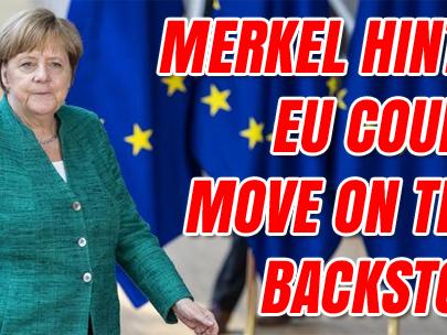 Merkel: Backstop Can Be 'Overwritten'