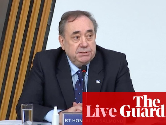 Alex Salmond gives evidence at hearing into botched inquiry against him –live updates