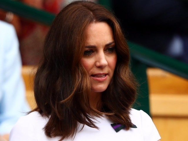 A journalist has a theory that Kate Middleton changes her hair to hide her pregnancy — we put it to the test