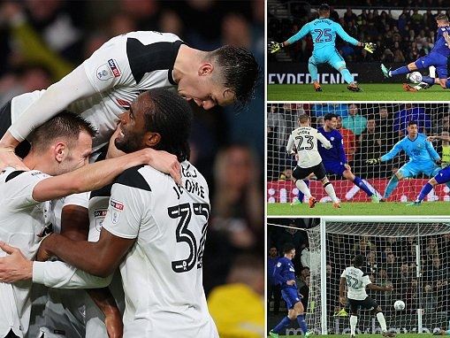 Derby 3-1 Cardiff: Cameron Jerome plays starring role with brace