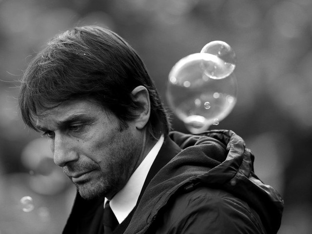 Conte champions focus and improvement for Chelsea's soon-to-be deposed champions