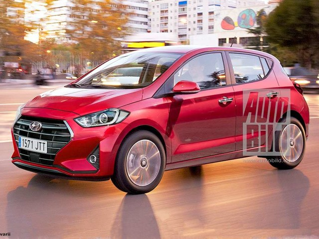 New Hyundai i10 Grand with Fluidic 2 design launch soon – Render