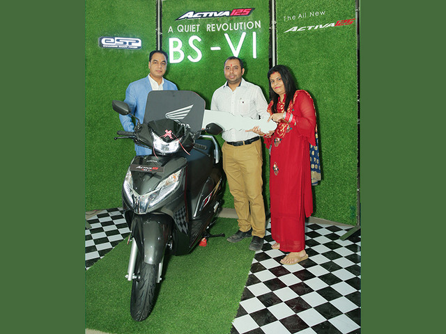 BS6 Honda Activa 125 FI deliveries begin