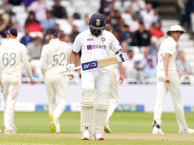 England vs India: Tourists in control of first Test at Trent Bridge despite hosts' wicket just before lunch