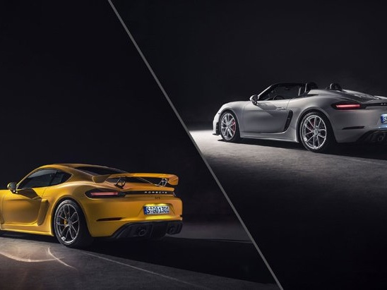 Porsche 718 Spyder and Cayman GT4 Get 6-Cylinder Power Again