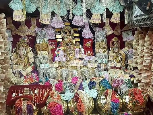 Inside A Unique Madhya Pradesh Temple, Decorated With Rs 100 Crore Cash
