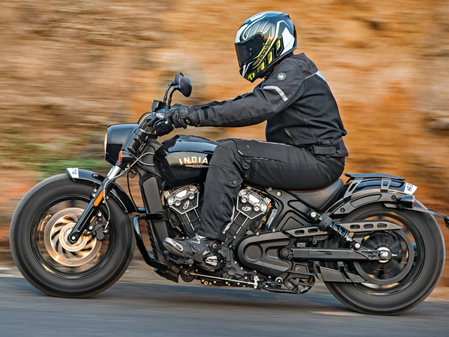 Review: 2018 Indian Scout Bobber review, test ride