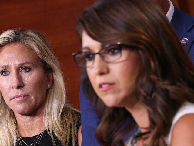 A key fundraising group for Republican women is shunning Reps. Marjorie Taylor Greene and Lauren Boebert, calling them 'carnival barkers'