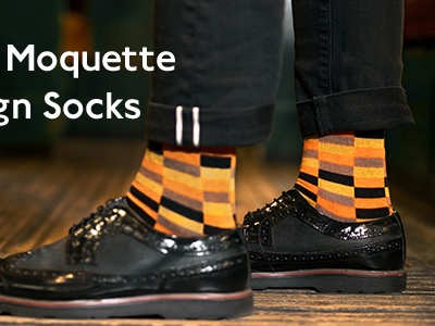 Moquette socks are back in stock