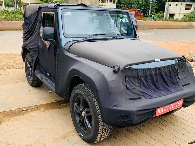 Production Ready 2021 Mahindra Thar Spied Ahead Of August 15 Debut
