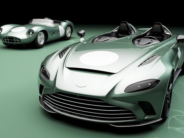Aston Martin V12 Speedster: historic DBR1 specification revealed