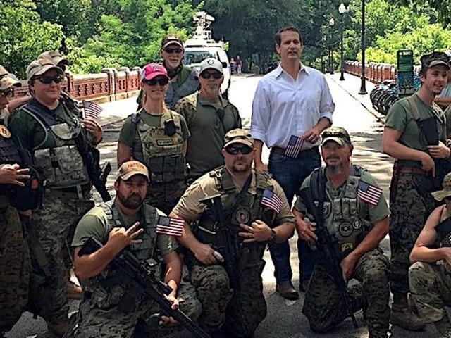 Georgia State Senator Under Fire For Photo With Armed Anti-Government Militia