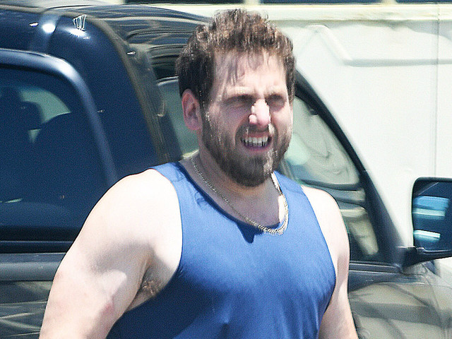 Jonah Hill Looks So Buff, Bares Slim Physique in a Tank Top!