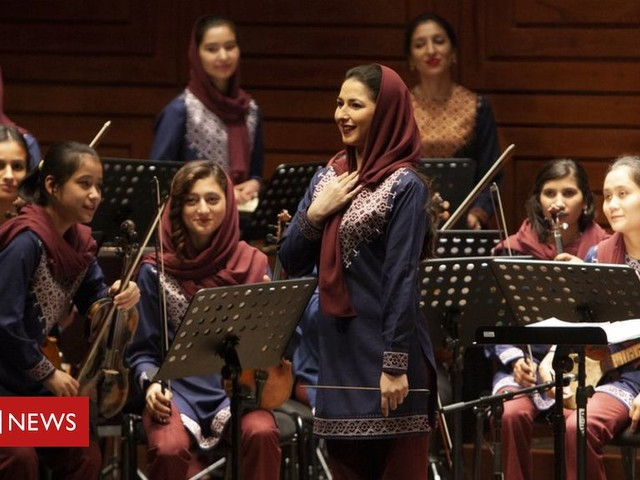 Afghanistan's first all-female orchestra Zohra visits the UK