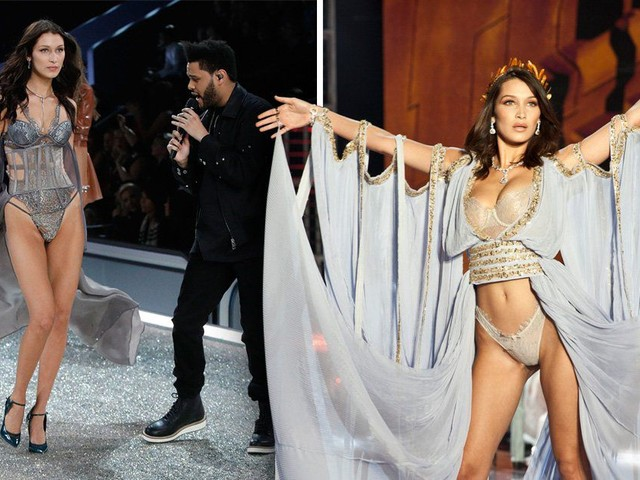 Bella Hadid felt stronger on the Victoria's Secret show after last year's face-to-face with ex The Weeknd