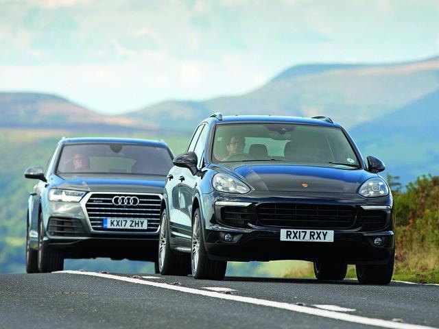 Range Rover Velar vs Porsche Cayenne vs Audi Q7: luxury SUV mega-test