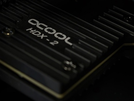 Alphacool Releases Two New SSD Coolers: Passive HDX-2 and Watercooled HDX-3