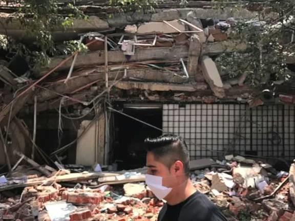 Strong 7.1-magnitude earthquake hits central Mexico