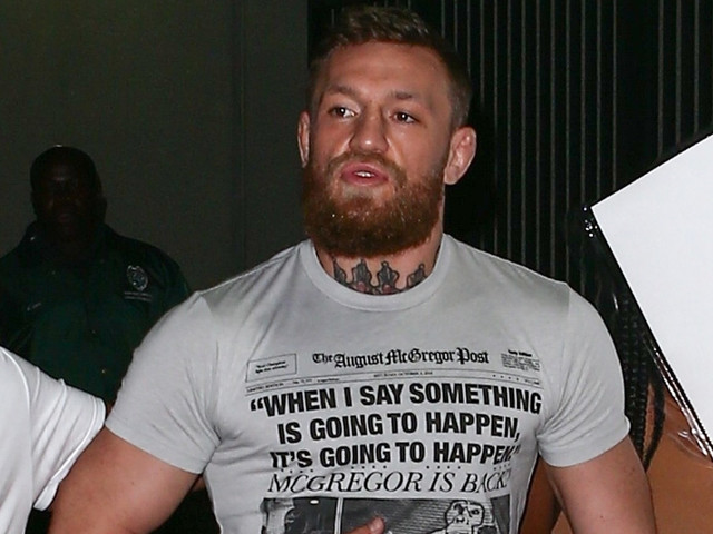 Conor McGregor Released From Jail After Allegedly Damaging Fan's Phone