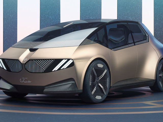 BMW concept hints at recyclable four-seat EV for 2040