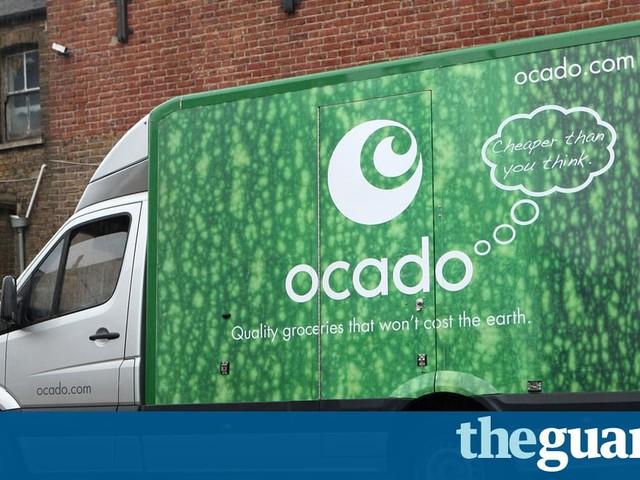 Ocado blames driver shortages for sales slowdown