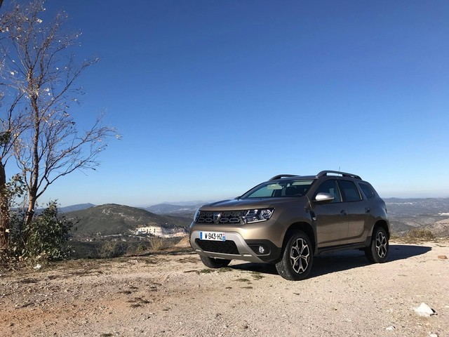 First photos of the 2018 Dacia Duster from the global media drive