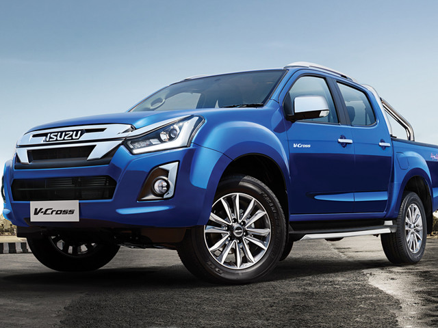2019 Isuzu D-Max V-Cross facelift launched at Rs 15.51 lakh