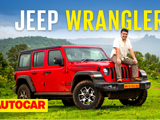 Review: 2021 Jeep Wrangler India video review