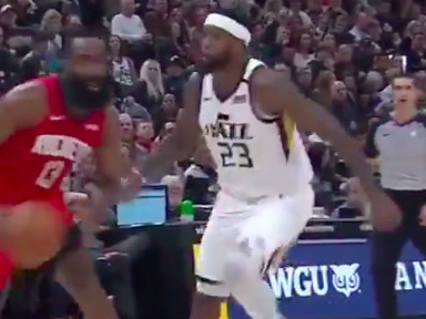 This James Harden 'travel' is actually totally legal. Here's why