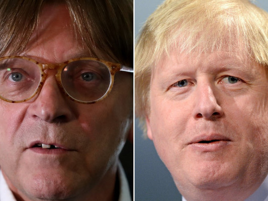 EU negotiator hits out at Boris Johnson for saying some young Britons have 'split allegiances'