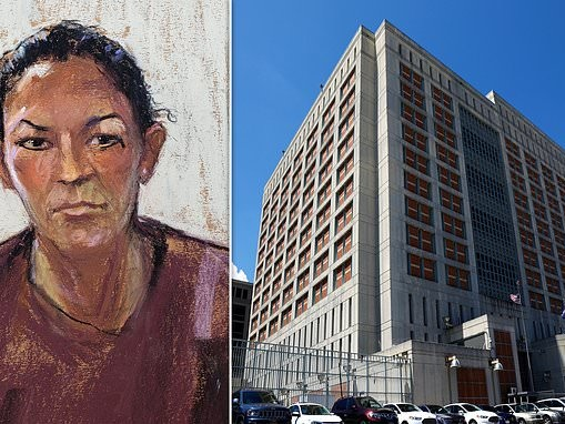 Ghislaine Maxwell moans about conditions at 'hell-hole' Brooklyn jail