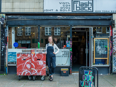 Record Shopping with Margaret Glaspy at Flashback Records