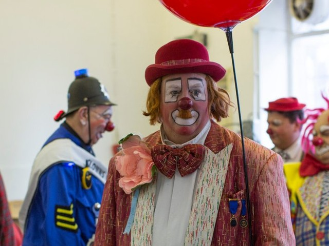 Professional clowns blame 'It' for a drop in business
