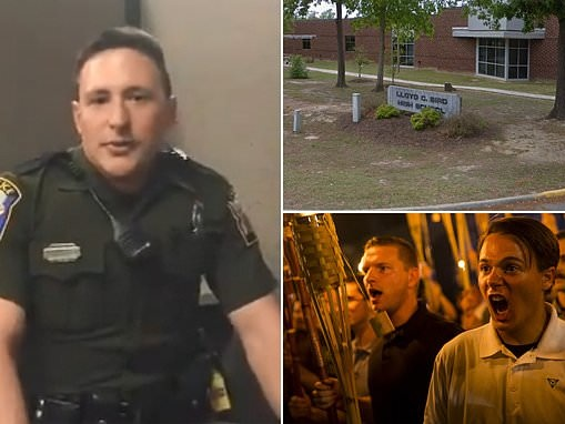 Virginia school resource officer SUSPENDED after ties to neo-Nazi group Identity Evropa emerge