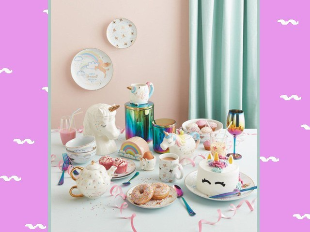 Asda has launched a unicorn-themed homeware collection and it all looks magical
