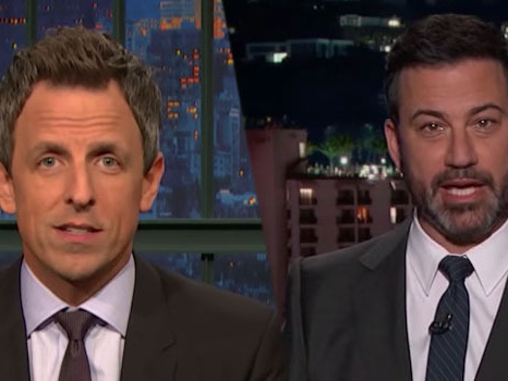 Late-Night Shows Slam Net-Neutrality Vote, Host Funeral for the Internet