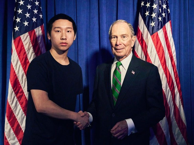 Meet the 21-year-old who Mike Bloomberg and Andrew Yang hired to create political memes — both based off cold emails