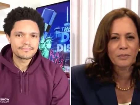 Kamala Harris and Trevor Noah Ponder Why Conservatives Botch Her Name (Video)