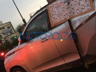 Mahindra KUV100 Face-lift Spied Again: Reveals Stylistic Changes