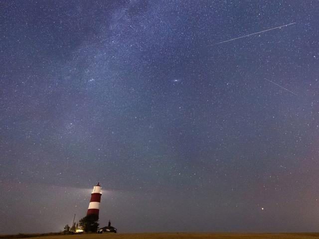 Stunning fireballs snapped over UK last night as Perseid meteor shower hits peak brightness