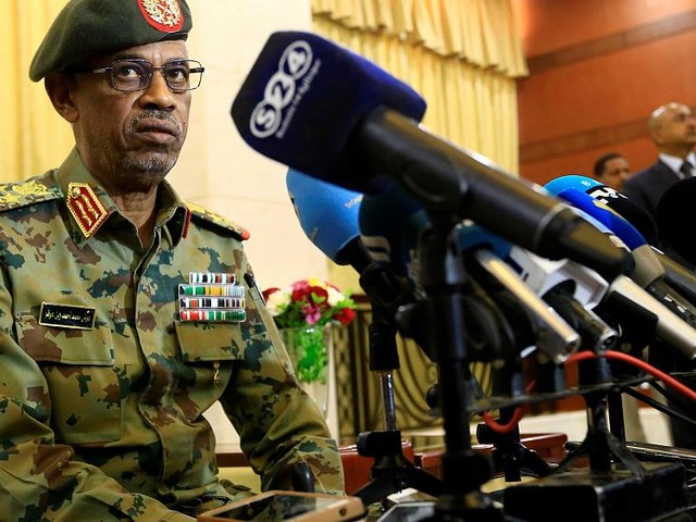 Head of Sudan military council steps down one day after long-time leader Bashir toppled in coup