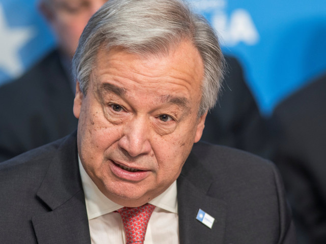 UN Chief Warns China, Russia And Iran 'Will Fill Void' If U.S. Quits Paris Deal