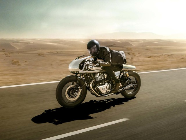 This Custom Royal Enfield Continental GT 650 Costs Rs. 20.55 Lakh