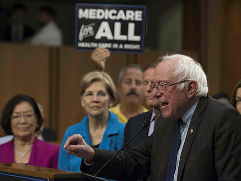 Key Democrats line up behind Sanders health care bill